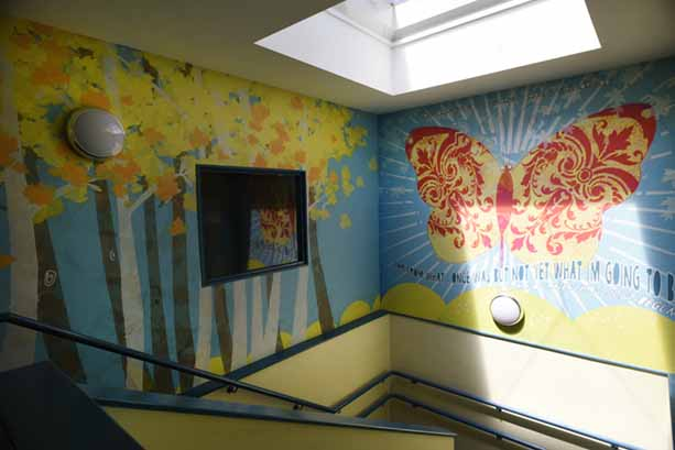 Switchscene | Commercial Wallpaper | Our Lady of Muswell School